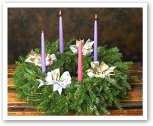 Advent-wreath-wk2-m MMMMMMMMMMMMM
