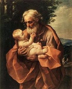 220px-Saint_Joseph_with_the_Infant_Jesus_by_Guido_Reni,_c_1635