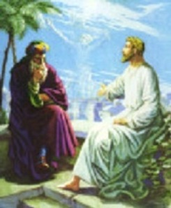 18 march Jesus with Nicodemus