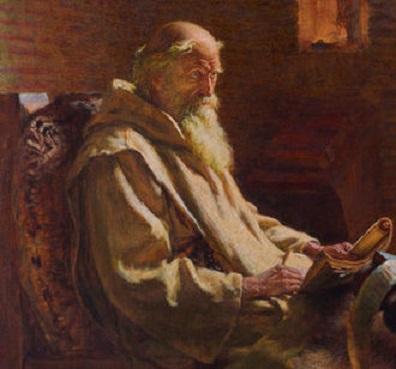 1 330px-The_Venerable_Bede_translates_John_1902