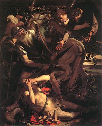 1 conversion x-Michelangelo_Merisi_da_Caravaggio_-_The_Conversion_of_St__Paul_-_WGA04135