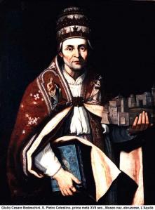 1 POPE PETER CELESTINE V untitled