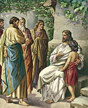 JESUS WITH CHILDREN stdas0083