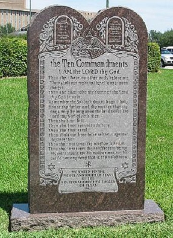 285px-Ten_Commandments_Monument