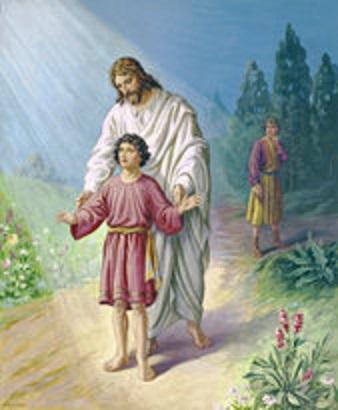 JESUS WITH BOY stdas0399