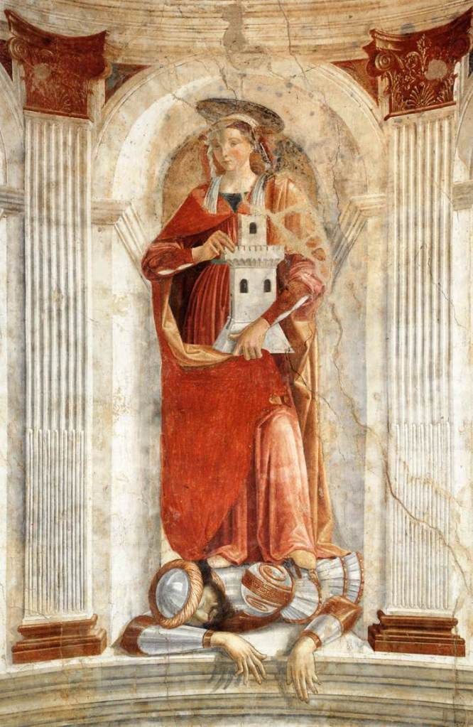 GHIRLANDAIO_Domenico_St_Barbara