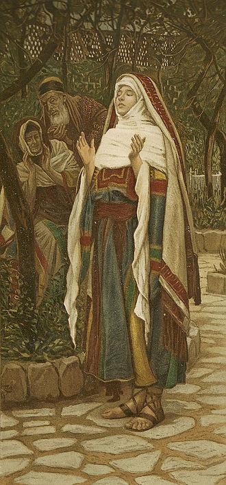 The Magnificat (Le magnificat) - James Tissot - Brooklyn Museum