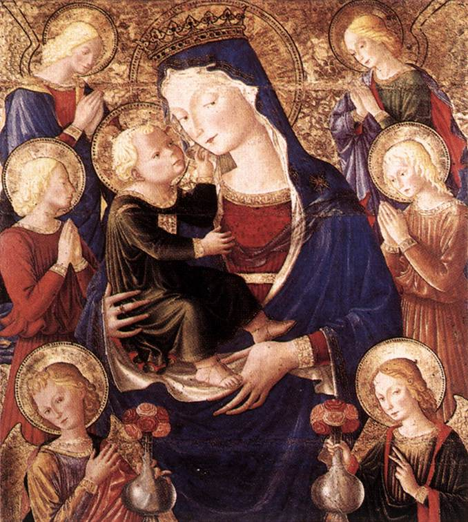 CAPORALI_Bartolomeo_Virgin_And_Child_With_Angels
