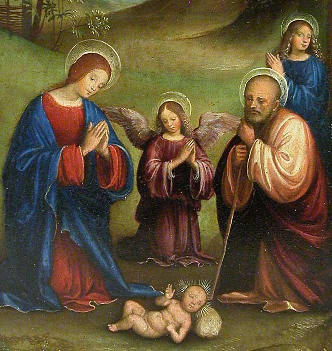 francesco_raibolini_dit_francia_l_adoration_de_l_enfant__detail__Bologne_vers_1450