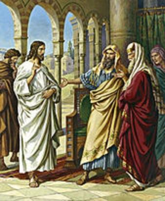 Jesus with authority stdas0149