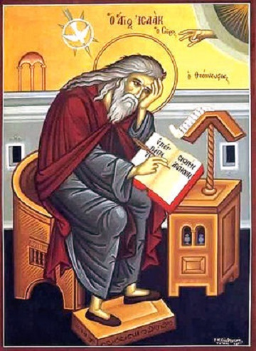 St. Isaac the Syrian (Orthodox icon)