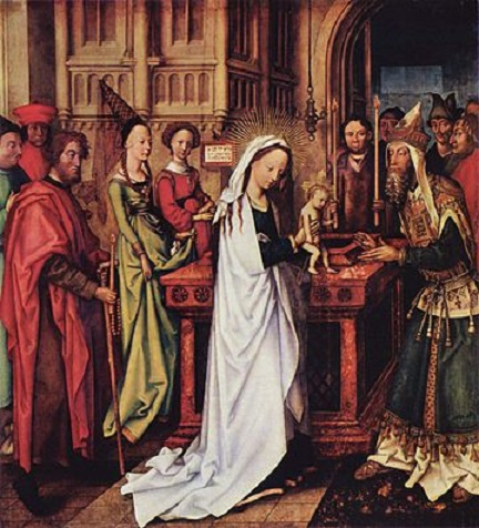 Presentation of Christ at the Temple by Hans Holbein the Elder, 1500–01 (Kunsthalle, Hamburg)
