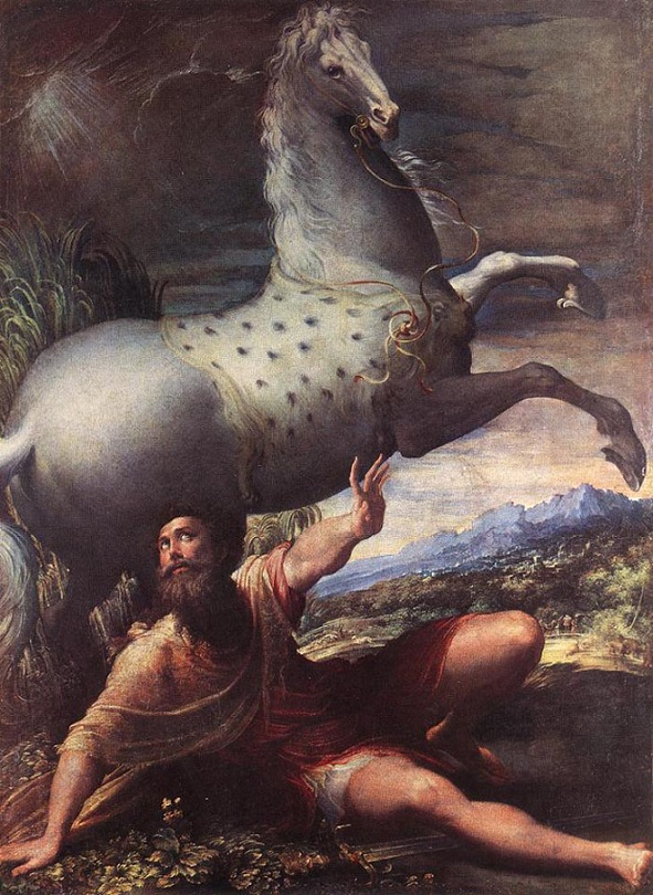 PARMIGIANINO_The_Conversion_Of_St_Paul BBBBBBBBBBBB