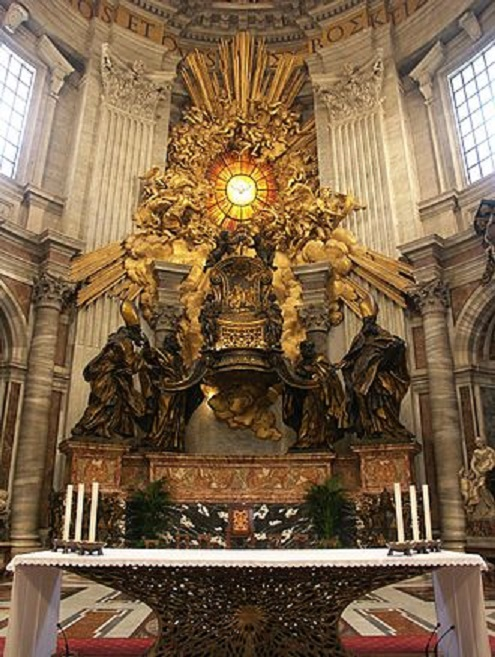 Rom,_Vatikan,_Petersdom,_Cathedra_Petri_(Bernini)_4
