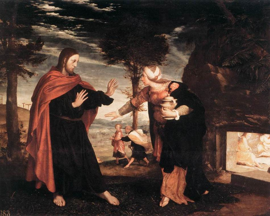 Holbien_the_Younger_Noli_me_Tangere