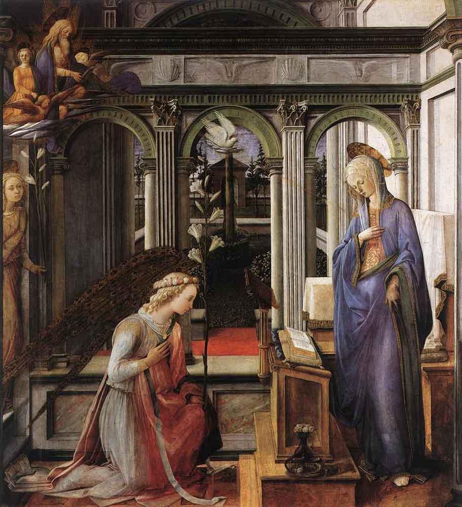 LIPPI_Fra_Filippo_Annunciation 1