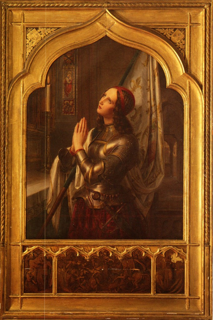 Stilke_Hermann_Anton_Joan_Of_Arc_In_Prayer