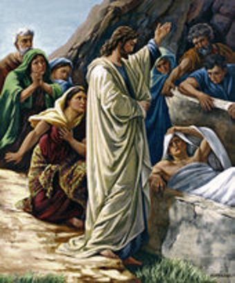 RAISING OF LAZARUS tdas0327