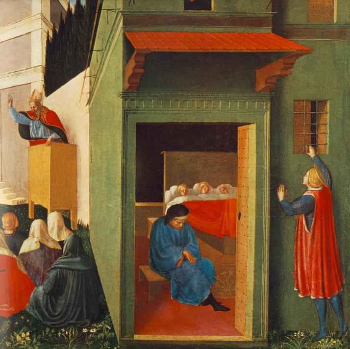angelico_fra_story_of_st_nicholas_giving_dowry_to_three_poor_girls