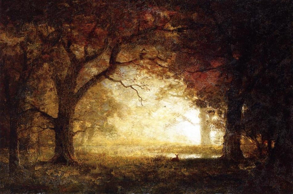 bierstadt_albert_forest_sunrise