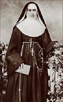 "Mother Marianne Cope is pictured in an undated file photo. Pope John Paul II moved the Franciscan nun's cause for sainthood forward April 19 in a decree attesting to her ""heroic virtues."" Mother Cope was the first U.S. missionary to work among patients with Hansen's disease in the Hawaiian Islands. She also took over the ministry of Blessed Damien de Veuster on the island of Molokai after he died of the disease in 1889. (CNS photo courtesy Hawaii Catholic Herald) (April 19, 2004) See COPE-SAINTHOOD April 19, 2004. (b/w only)"